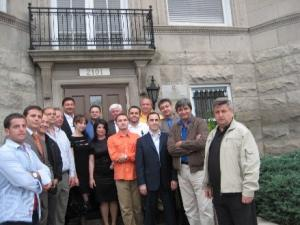 John Maxemchuk Led a Delegation of Moldovan Business People to the U.S.