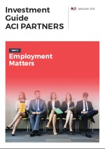 ACI Partners: The Investment Guide - Employment Matters in Moldova