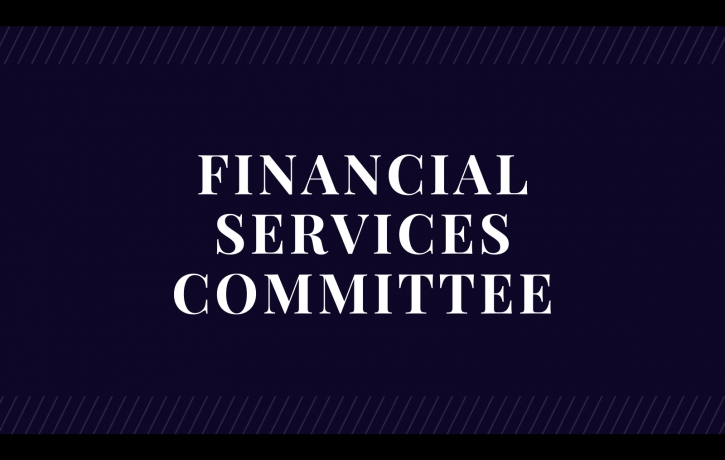 Financial Services Committee Meeting on Draft ...