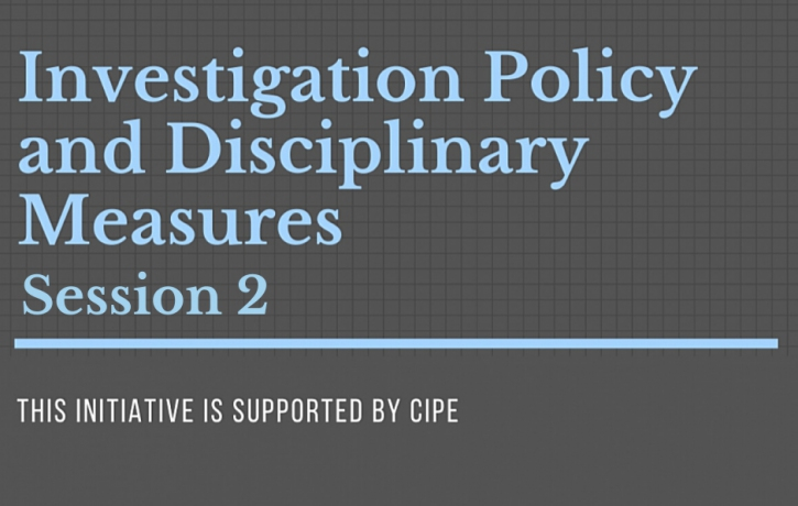 Ethics & Compliance Club: Investigation Policy ...