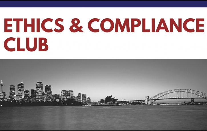 Ethics & Compliance Club: Compliance from a ...